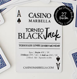 Casino Marbella 7 january 2020 English