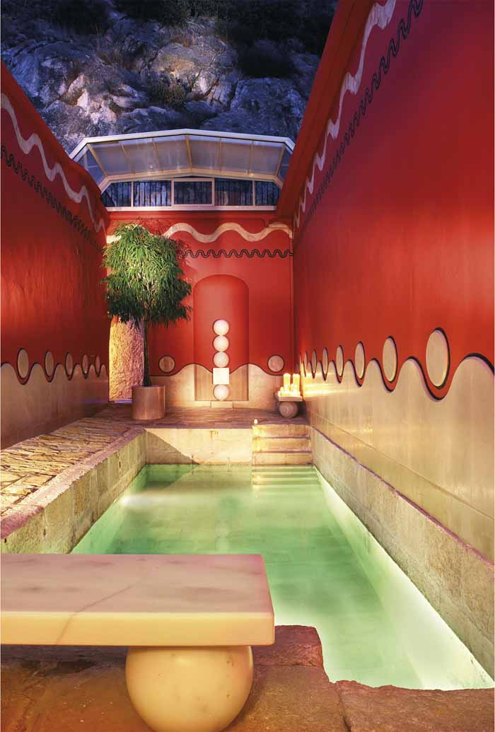 Villa padierna thermas un hotel m gico en la provincia de for Utilidad del marmol